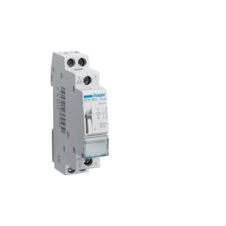 Hager - {reference} - Hager - EPN520 - Télérupteur 2F 230V