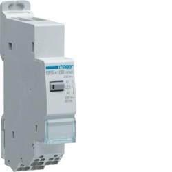 Hager - {reference} - Télérupteur silencieux 1F 230V SanVis