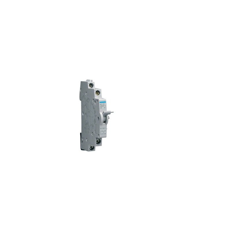 Hager - {reference} - Contact auxiliaire 10+1F 6A 240V AC
