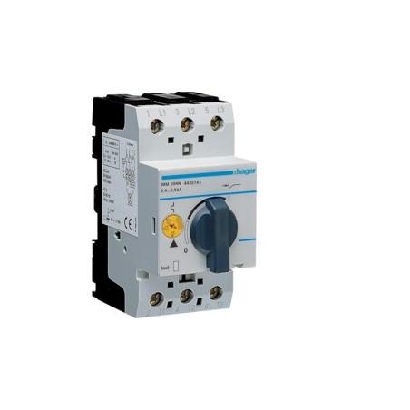 Hager - {reference} - Disjoncteur moteur 4.0-6.3 A P   1.1-2.2 kW AC3 230-400 V 2.5 M IEC 947