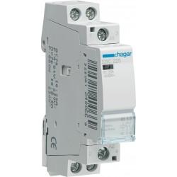 Hager - ESC225 - Contacteur 25A, 2F, 230V
