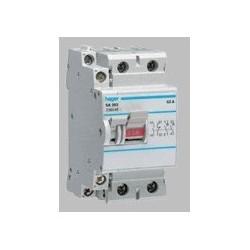 Hager - {reference} - Interrupteur à déclenchement libre 2P 40A