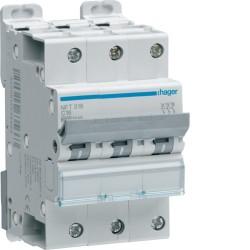 Disjoncteur modulaire 3P 6-10kA C-10A 3m