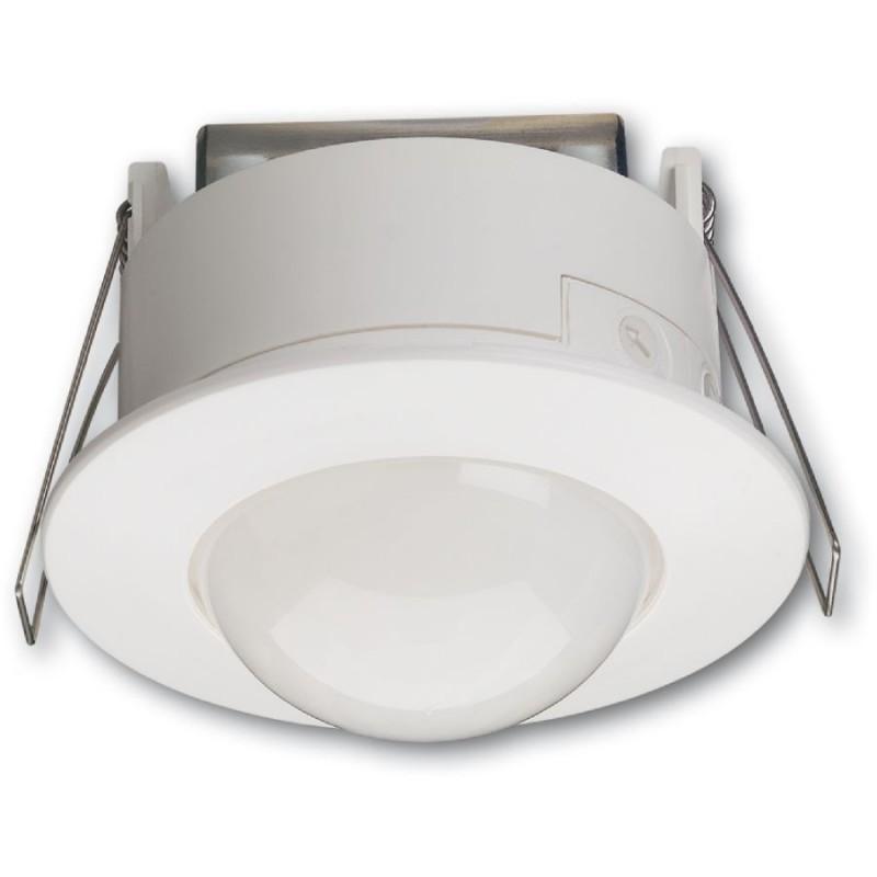 Hager - {reference} - Hager - 52371 -Détecteur de mouvement infrarouge plafond semi-encastré 360° blanc