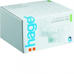 Hager - {reference} - Hager - TRE700 - Kit Détecteur infrarouge blanc + 1Sortie 10A KNX radio quicklink