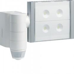 Hager - {reference} - Proj LED détect 220/360 blanc
