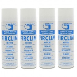 Firclim | lot de 4x spray anti-bactérien,...
