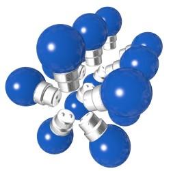 Rêvenergie | Lot de 15 ampoules bleues B22...