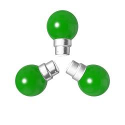 Lot de 3 ampoules vertes B22 Incassables avec...