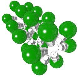 Lot de 24 ampoules vertes B22 Incassables avec...