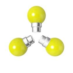 Lot de 3 ampoules jaunes B22 Incassables avec...