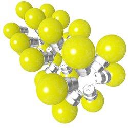 Lot de 24 ampoules jaunes B22 Incassables avec...