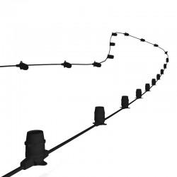 Rêvenergie |Guirlande guinguette B22 vide 2x1,5m