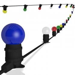 Rêvenergie | Guirlande guinguette 20 ampoules...