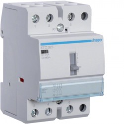 Hager - {reference} - Hager SAS - ETC325 - Contact J/N 25A, 3F, 230V