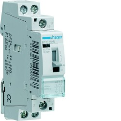 Hager - {reference} - Hager SAS - ETC225 - Contact J/N 25A, 2F, 230V
