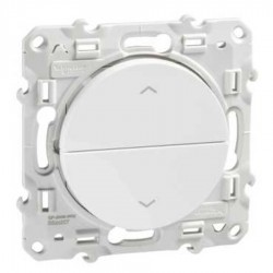 Schneider Electric - {reference} - Schneider Electric - S520207 - ODACE poussoir 2 boutons blanc volet roulant