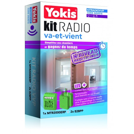 Yokis - KITRADIOVVP - KIT RADIO VA-ET-VIENT POWER