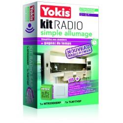 Yokis - {reference} - Yokis - KITRADIOSAP - Kit Radio Simple Allumage - Radio POWER