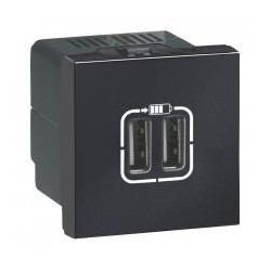 Legrand - {reference} - Legrand - 079194 - CHARG 2M 2USB A+A 2.4A 12W ANT