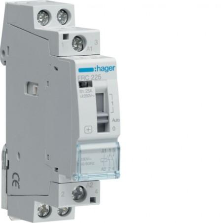 Hager SAS - ERC225 - Contact cde manu 25A