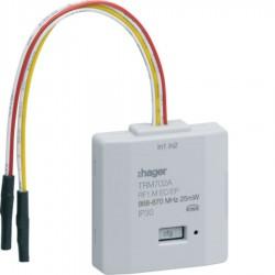 Hager SAS - TRM702A - 2 entrees pile KNX radio
