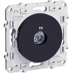 Schneider Electric - {reference} - Schneider Electric - S540445 - ODACE PRISE TV ANTHRACITE VIS