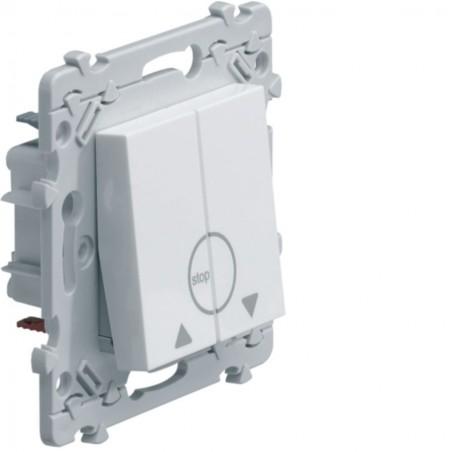 Hager SAS - WE301 - Ess. Double poussoir VR