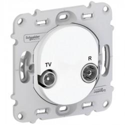 Schneider Electric - S261451 - PRISE TV - R SANS PLQ