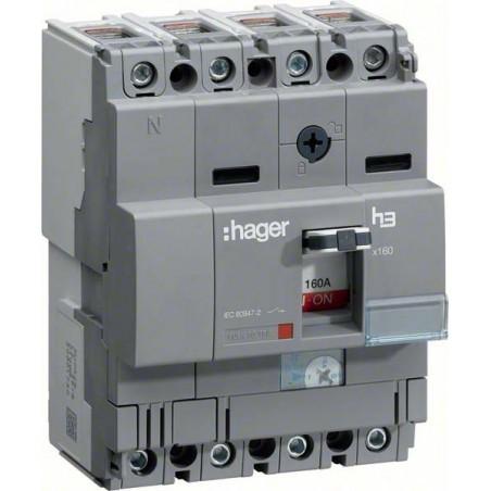 Hager SAS - HCA161H - Inter x160 4P 160A fixe