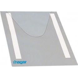 Hager SAS - FZ794 - Porte schema souple A4