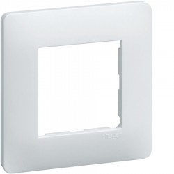 Hager SAS - WE401 - Essensya Plaque 1 poste Blanc