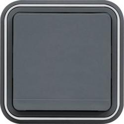 Hager SAS - WNE100 - cubyko PC 2P+T encastre gris