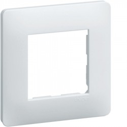 Hager SAS - WE40150 - Ess. Lot 50 plaques 1P Blanc