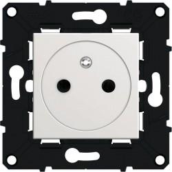 Arnould - {reference} - Arnould - 64034 - Prise de courant 2P+T Surface à bornes automatiques Espace Evolution - Blanc