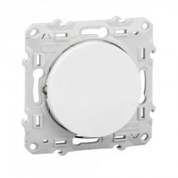 Schneider Electric - {reference} - Schneider Electric - S520276 - ODACE poussoir lumineux blanc VIS
