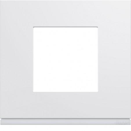 Hager SAS - WXP0002 - Plaque plast 1P pure