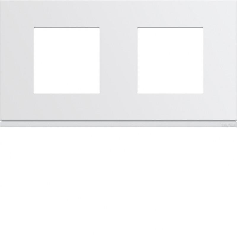 Hager SAS - WXP0012 - Plaque plast 2P H71 pure