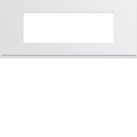 Hager SAS - WXP0006 - Plaque plast 6M E57 pure