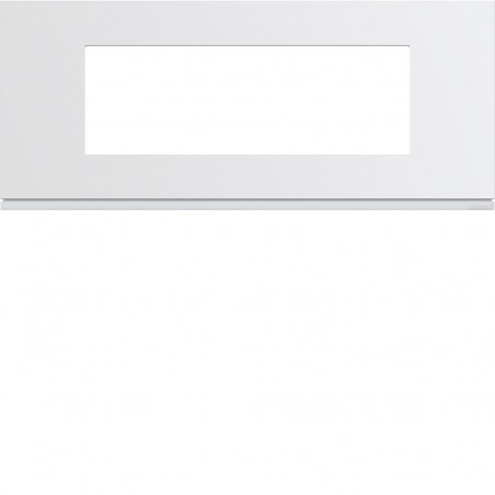 Hager - {reference} - Hager SAS - WXP0006 - Plaque plast 6M E57 pure