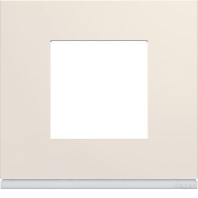 Hager SAS - WXP0302 - Plaque 1P dune