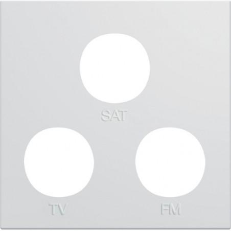Hager SAS - WXD256B - Enjo prise TV+FM+SAT 2M pure