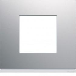 Hager SAS - WXP0102 - Plaque 1P titane