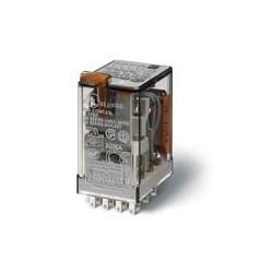 Finder - 553480240054 - R 4RT 7A 24AC BT+IM+LED