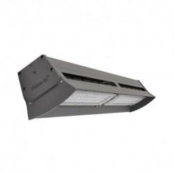 Miidex Lighting - {reference} - Lampe industrielle LED Intégrées gris anthracite 200W 24200 LM 4000°K