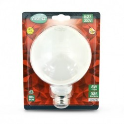 Miidex Lighting - {reference} - Ampoule LED E27 G95 Filament 8W 6000°K