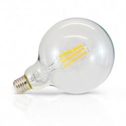 Ampoule LED E27 G125 Filament 8W 2300°K