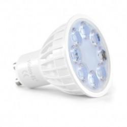 Miidex Lighting - {reference} - Ampoule LED GU10 4W RGB+BLANC