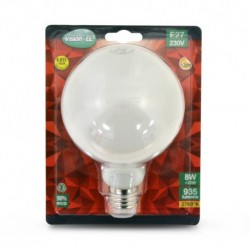 Miidex Lighting - {reference} - Ampoule LED E27 G95 Filament 8W 2700°K