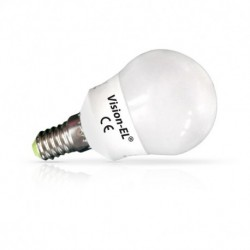 Miidex Lighting - {reference} - Ampoule LED E14 Bulb P45 6W 3000°K Blister x 3